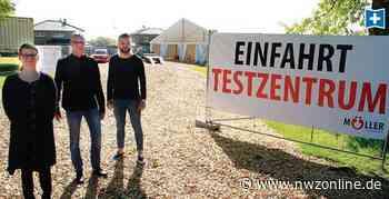 Kampf gegen die Pandemie: Corona-Test am Drive-In-Schalter in Garrel - Nordwest-Zeitung