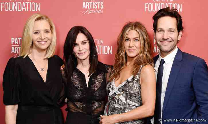 The real reason why Paul Rudd won't be in Friends reunion - HELLO!
