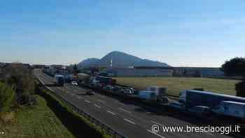Autostrada chiusa tra Palazzolo e Rovato per lavori - Brescia Oggi
