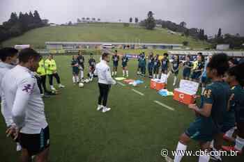 Seleção Feminina Sub-20 convocada para período de treinamentos em Pinheiral - Confederação Brasileira de Futebol - cbf.com.br