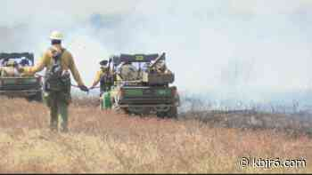 Prescribed burn torches nearly 1500 acres in Chequamegon-Nicolet National Forest - KBJR 6
