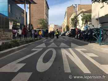 À Pantin, les voitures ne sont plus les bienvenues autour des écoles - Le Parisien