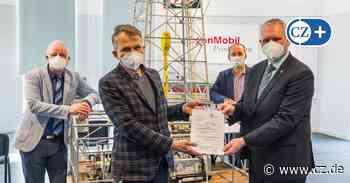 Erdölmuseum Wietze: Minister bringt Geld für Beleuchtung mit - Cellesche Zeitung