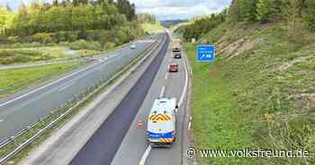 Arbeiten zwischen den Autobahn-Anschlussstellen Daun und Gerolstein - Trierischer Volksfreund