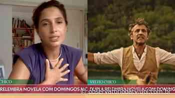 """Camila Pitanga relembra parceria com Domingos Montagner em Velho Chico: """"Um brilhante companheiro"""" - Observatório da TV"""