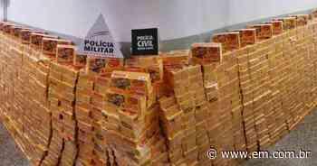 Operação em Campos Altos apreende mais de mil caixas de chocolate saqueadas - Estado de Minas