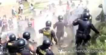 Huaura: Policía desalojó a familias que invadieron zona arqueológica de Hualmay - América Televisión