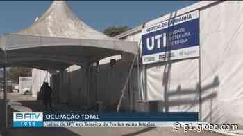 Teixeira de Freitas tem 100% dos leitos de UTI exclusivos para pacientes com Covid-19 ocupados - G1