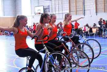 Kunstradsport: RMSV Aach kämpft auf der virtuellen Plattform um Medaillen - SÜDKURIER Online