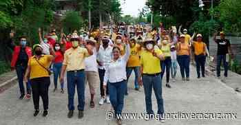 Elizabeth Montiel le apuesta a la educación, en Coatzintla - Vanguardia de Veracruz