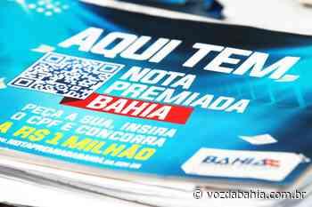 Nota Premiada contempla moradores de Madre de Deus, Cachoeira, Maragogipe e mais 31 municípios do interior - Voz da Bahia