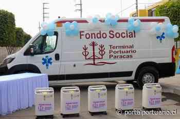 Perú: Terminal Portuario Paracas dona ambulancia y equipo médico - PortalPortuario