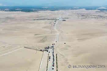 Perú: avanza carretera que amenaza la Reserva Nacional de Paracas - Mongabay en Español Fuente - Mongabay en Español