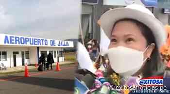 Junín: Keiko Fujimori anunció remodelación del aeropuerto de Jauja - exitosanoticias