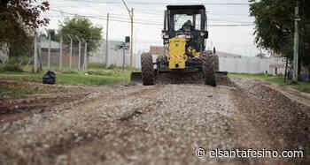 Comenzaron las tareas de mejorado en calles en el barrio Santa Rita de la capital provincial – El Santafesino - El Santafesino