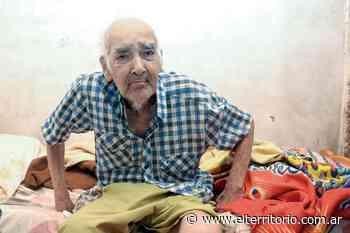 Abel Barrios, el vecino de Santa Rita de 114 años - EL TERRITORIO