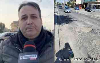 Villaricca, disastro buche via Consolare Campana: l'appello di Aniello Granata - Teleclubitalia.it