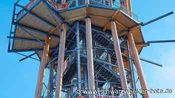 Schömberg - Turm wird wohl im Juni eröffnet - Schwarzwälder Bote