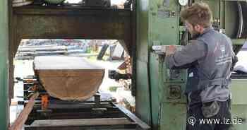 Im Istruper Sägewerk wird das Holz knapp   Lokale Nachrichten aus Blomberg - Lippische Landes-Zeitung
