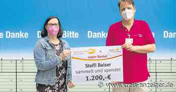 Salon Claus Nidda spendet an Palliativteam - Kreis-Anzeiger