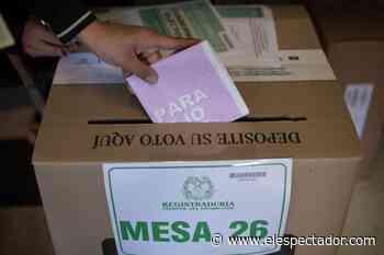 Elecciones atípicas en Caucasia: así está la intención de voto - El Espectador