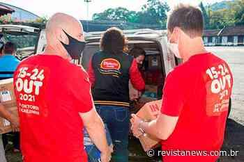 AMIFEST de Igrejinha beneficia entidades com doação de alimentos - Revista News