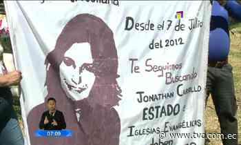 Autoridades continúan la búsqueda de Juliana Campoverde - tvc.com.ec