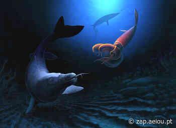 Encontrados fósseis de nova espécie de lagarto marinho gigante - ZAP
