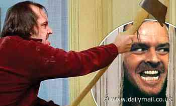 Jack Nicholson's foam prop axe from The Shining goes on sale for a whopping £45,000 - Daily Mail