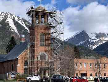 Fernie's Holy Family Catholic Church bell tower gets a new roof – The Free Press - The Free Press