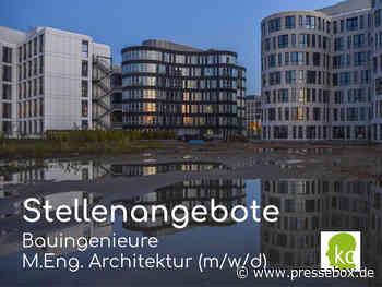 Bauingenieure, Architektinnen, Projektleiter, Oberbauleiter:innen, Spezialisten Bau- und Ingenieurwesen gesucht – exzellente Berufsperspektiven - PresseBox