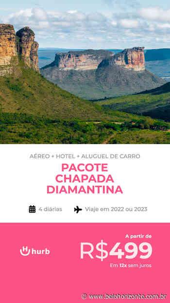 Pacote Chapada Diamantina por R$ 499,00 você pode escolher entre 2022 e 2023 com Aéreo + Hospedagem com Café da Manhã + Aluguel de Carro - Belo Horizonte