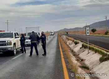 Instalan retén policías estatales en el charco - La Opcion