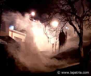 Habitantes de Las Colinas sufrieron la confrontación entre Esmad y manifestantes - La Patria.com