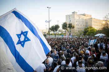 Rally in Support of Bringing IDF Soldiers Oron Shaul and Hadar Goldin Back to Israel - The Jewish Press - JewishPress.com