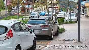 Mit dem HGV abgestimmt - Parken in Baiersbronn soll übersichtlicher gestaltet werden - Schwarzwälder Bote