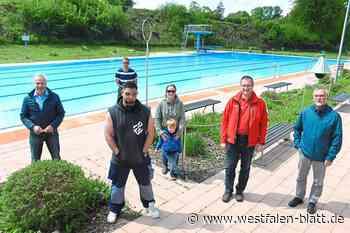 Waldfreibad in Vlotho startet am 28. Mai Freitag im Sportbetrieb: Schwimmen, duschen, raus - Kreis Herford - Westfalen-Blatt
