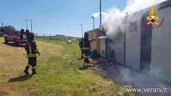 Pianella, a fuoco cabina collegata a un impianto fotovoltaico - Vera TV