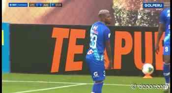 Casi los madruga: Ascues perdió un mano a mano y el 1-0 de A. Atlético vs. UTC [VIDEO] - Diario Depor
