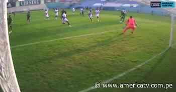 Alianza Lima vs. Alianza Atlético: Concha se metió como en su casa al área, pero falló ante el portero - América Televisión