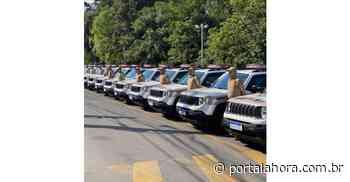 Polícia Militar de Laguna, Imaruí, Garopaba, Paulo Lopes e outros 11 municípios da Amurel recebem novas viaturas do Governo do Estado - Portal AHora