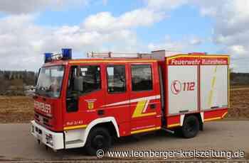 Auktion in Rutesheim: Wer will ein Feuerwehrauto? - Rutesheim - Leonberger Kreiszeitung
