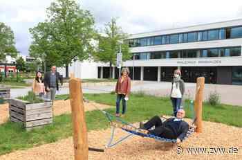 Hängematten und Liegen für den Pausenhof der Realschule Remshalden - Remshalden - Zeitungsverlag Waiblingen
