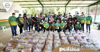 Deputada doa cestas básicas para famílias de Itacoatiara - Em Tempo