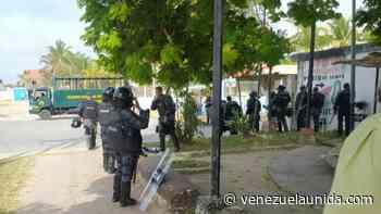 Militarizaron hospital de Tucacas por la protesta de los trabajadores de la salud - http://venezuelaunida.com/