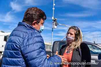 Instalaron cámaras de seguridad en San Justo - Popular