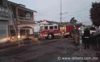 Se registra incendio durante las últimas horas del viernes en un negocio en La Cruz de Elota - Debate