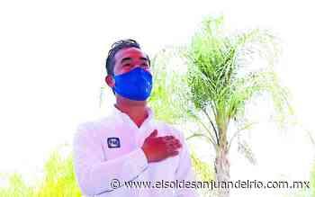 Candidato Trejo propone proteger medio ambiente - El Sol de San Juan del Río