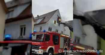 Feuer in Bopfingen   schwäbische - Schwäbische