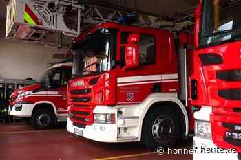 Bad Honnefer Feuerwehr bei Brand in Siegburg im Einsatz - Honnef heute